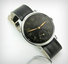 Vintage Watch...TISSOT Antimagnetique....In House...Early 40's....Black face!!