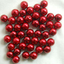 100pcs Top Quality Czech Glass Pearl Round Beads 3mm 4mm 6mm 8mm 10mm 12mm