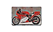 Ducati 750 F1 Montjuich Motorbike A4 photo Retro Bike