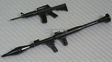 RC 1/10 Scale Car Truck Accessories AK47 RPG Rocket Propelled Grenade