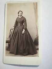 Heidelberg - Frau Harf als Frau - Portrait - Kulisse / CDV