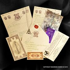 2016 Harry Potter Hogwarts Acceptance Letter, Deathly Hallows + Marauders Map