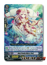 Cardfight Vanguard  x 4 Duo Pretty Horn, Ural (White) - EB10/015EN-W - R Mint