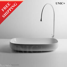 Italian Design Modern Porcelain Ceramic Bathroom Vessel Sink Basin Bowl BVC009L