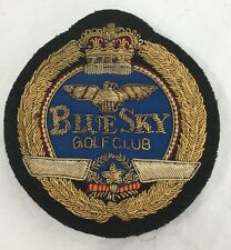 "Vintage Japanese WWII Military Pilots Association ""Blue Sky"" Golf Club Patch"
