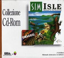 SIM ISLE pc cd rom mission in RAINFOREST giochi city simulator SIGILLATO