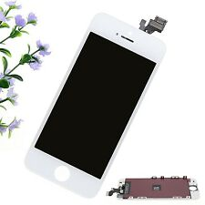 White for iPhone 5 Front Glass LCD Display Touch Screen Digitizer Panel Frame AZ