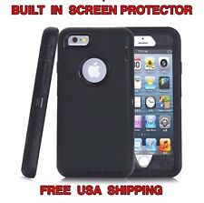 IPHONE 6 6S HYBRID CASE STRONGER THAN OTTERBOX COMMUTER - USA SELLER