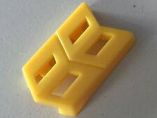 Transformers G1 Parts encore 09 OMEGA SUPREME middle yellow clip leg connector