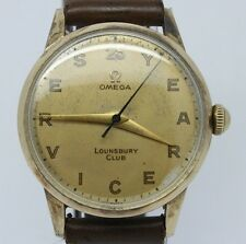 VINTAGE 1950's Omega 33mm Mens Manual Watch c.283 ref.2496-3 Original 25yr Dial