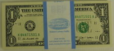100 Pack of 2009 Consecutive $1 Uncirculated Paper Currency Money Notes
