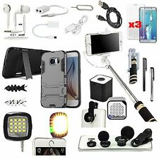 Case+Speaker+Light+Monopod+Charger+Lens Accessory For Samsung Galaxy S7 Edge