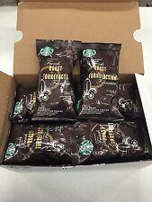 (18) EIGHTEEN PACKS - Starbucks French Roast Ground Coffee - 2.5 oz. bags