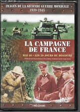 DVD --DOCUMENTAIRE--LA CAMPAGNE DE FRANCE - MAI 40 30 JOURS DU DESASTRE--NEUF