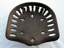 ANTIQUE CAST IRON DAINS TRACTOR/IMPLEMENT SEAT GUARANTEED ORIGINAL