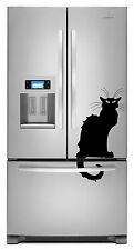 Le Chat Noir Decal Sticker Dishwasher Refrigerator Washing Machine Stove Dorm