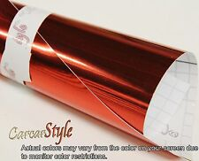 【Mirror Chrome】ALL COLOUR【0.3 Meter x 1.52M 】Vehicle Wrap Vinyl Sticker Air Free