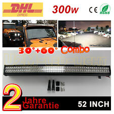 300W LED Arbeitsscheinwerfer LKW Jeep Light bar SUV ATV Polaris Ford Lichtleist