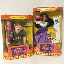 1995 Esmeralda & Quasimodo Doll Hunchback of Notre Dame Disney Lot Of 2 (#21)