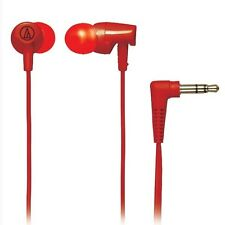 Audio-technica ATH-CLR100/RD Inner Ear Earphone Headphones ATHCLR100 Red