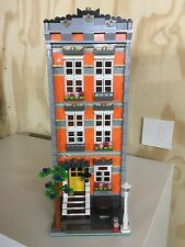 Lego Custom Modular Building, Orange Town House Like 10182