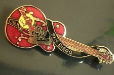 HRC Hard Rock Cafe San Diego Red Dead Eddie Cochran Gretsch Guitar