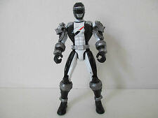 FIGURINE POWER RANGERS OPERATION OVERDRIVE- BLACK RANGER NOIR - BANDAI 2007
