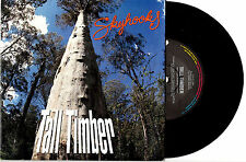 "SKYHOOKS - TALL TIMBER - RARE 7"" 45 VINYL RECORD PIC SLV 1990"