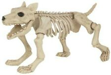 Large Scary Skeleton DOG 28cm Tall Halloween Party Decoration Prop Fancy Dress