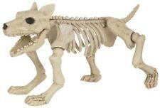 Grand Squelette Effrayant CHIEN 28cm Haut Décoration De Fête Halloween