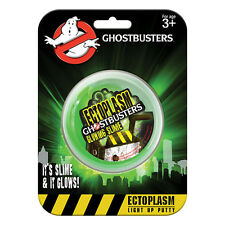 GHOSTBUSTERS FANTASMA INCANDESCENTE Slime SERIE TV paranormale FANTASMA Light Up Putty