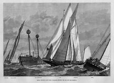 ROYAL VICTORIA YACHT CLUB COLLISION BETWEEN THE ADA AND THE FLORIDA LIGHT SHIP