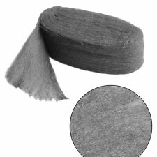 Grade 0000 Steel Wire Wool 3.3m For Polishing Cleaning Remover Non Crumble VE