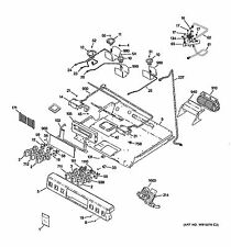 NEW OEM GE CAFE Range GLASS & TOUCH BOARD ASM WB27X26525