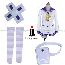 Hyperdimension Neptunia Purple Heart Mk2 Clothing Cos Cosplay Costume