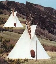 CANVAS SIOUX STYLE TIPI 20 FT.