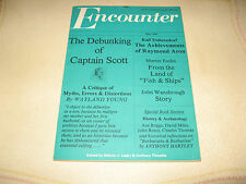 1980 Encounter Raymond Aron, Asa Briggs, Robert Falcon Scott, John Wansbrough