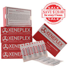 Xeneplex Chemical, Plastic, Drug Removal EDTA Chelation Therapy 6 Box Discount