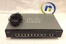 Cisco SRW2008-K9 Small Business Managed Gigabit Switch | SG300-10 -1 YR WARRANTY