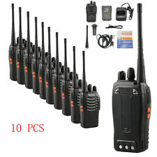 10 pcs Walkie Talkie Way Radio 2 Two Frs Gmrs Mile New Motorola Midland Radios M