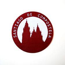 Camino de Santiago Cathedral of Compostela Pilgrim Cloth Patch