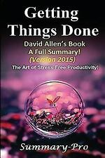 Getting Things Done a Full Summary-- ... Book, Planner, Paperback, Audio,...
