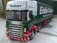 SCANIA R620 EDDIE STOBART CURTAINSIDE TRUCK SUSAN DAWN DIECAST MODEL LORRY 1:50