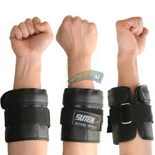 Pair of Adjustable Hand Wrist Ankle Weights Exercise Fitness MMA Boxing Training
