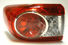 Toyota Corolla 2010-2013 Saloon Tail Rear Left Stop Signal Lights Lamp OEM