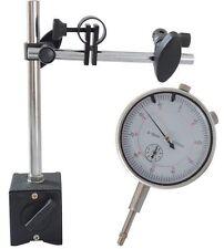 Messuhr 1/100mm Messweg 10mm mit Magnethalter Halter für Messuhr