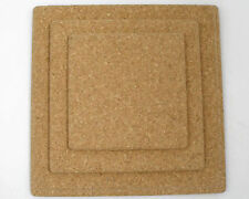 Square Natural Cork Tablemat Placemats 150mm x 150mm