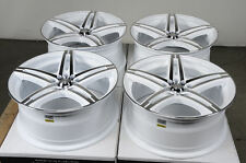 17 5x114.3 5x100 White Wheels Fits Civic Accord Prelude Avalon Venza Tsx Rims