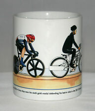 Cycling Mug. Sir Chris Hoy, Keirin, 2012 Olympics, with title