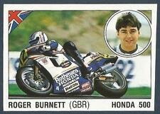 PANINI SUPERSPORT 1988/89- #119-GREAT BRITAIN-MOTOR CYCLING-ROGER BURNETT